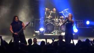 Fear Factory H-K (Hunter-Killer) live at the Tivoli Brisbane 2013