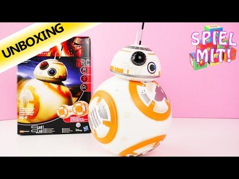 BB 8 Hasbro Deutsch - Ferngesteuerter Droide von Star Wars - Unboxing