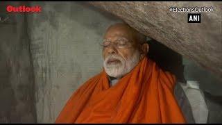 PM Modi meditates at holy cave near Kedarnath ahead of last phase of LS 2019 election