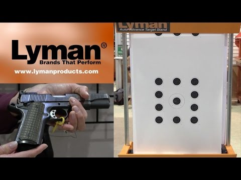 Easy Target Change With Lyman's Remote Control Target Stand