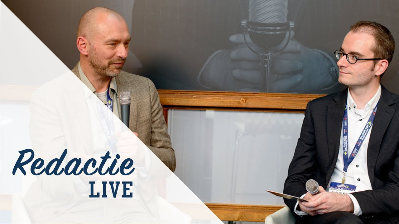 Video: Redactie LIVE met Thomas Bögl
