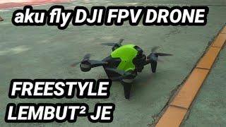 DJI FPV Drone | Onboard Freestyle Footage | Acro Mode