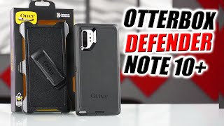 Otterbox Defender Series Case for Samsung Galaxy Note 10 Plus | How to Install and review
