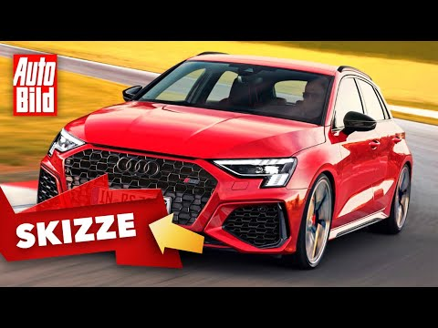 Audi RS 3 (2021): Skizze - Neuvorstellung - Motor - Kompakt - Infos