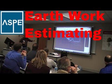 Earth Work Estimating, Mass excavation Estimating ... - YouTube