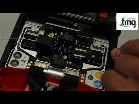 Video: Sumitomo 72C Core Alignment Fusion Splicer Demonstration
