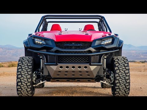 Honda Ultimate Off-Road Concept – Rugged Open Air Vehicle