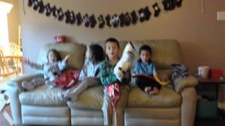 Kids Get Gag Gifts For Christmas...
