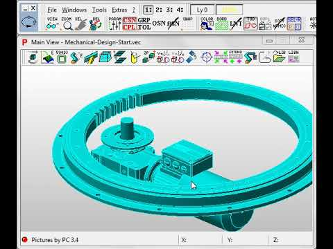 Pictures by PC CAD Software - Mechanical Construction (Machine Design)
