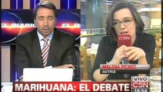 C5N - MARIHUANA, EL DEBATE: MALENA PICHOT