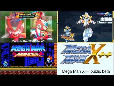 "Mega Man Zero/ZX Legacy Collection ""Red Hero"" Trailer, X DiVE Cinnamon & Blast Man in Mega Man Maker"
