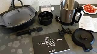 Klarstein Food Circus Küchenmaschine und Dampfgarer