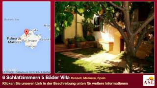 preview picture of video '6 Schlafzimmern 5 Bäder Villa zu verkaufen in Consell, Mallorca, Spain'