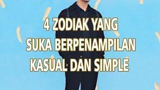 4 Zodiak Ini Lebih Suka Pakai Baju Kasual dan Simple