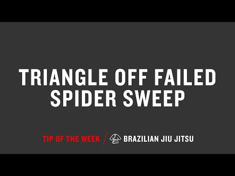 Triangle Off Failed Spider Sweep