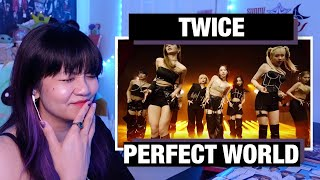 """RETIRED DANCER'S REACTION+REVIEW: TWICE """"Perfect World"""" M/V!"""