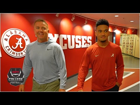 Tua Tagovailoa is ready to lead Alabama back to glory (Extended interview) | College GameDay