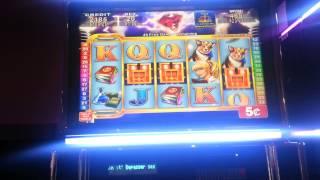 Electrifying Riches 5c bonus - BIG WIN w/retrigger