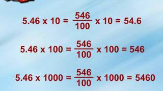 Multiplication and Division of Decimal Numbers