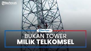 Manajemen Telkomsel Tegaskan Kabar Bendera Bintang Kejora yang Berkibar Bukan di Tower Miliknya