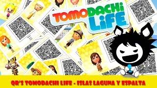 QR's Tomodachi Life - Islas Laguna Y Espalta