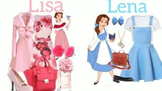 Lisa Or Lena 💕  [ Disney Inspired Outfits ]
