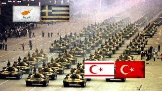 CYPRUS VS ΝΟRΤΗΕRΝ CYPRUS - Κύπρος VS Κατεχόμενα - Military Comparison