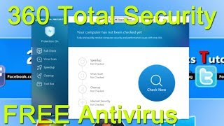 360 Total Security 2017 Install & Review | Windows 10 Ultimate FREE Antivirus Software
