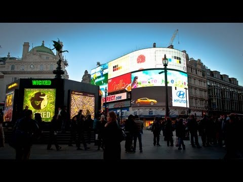 Piccadilly Circus: Central London's Time
