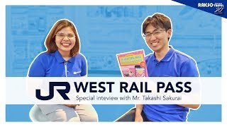Learn More About the JR West Rail Pass with Mr. Takashi Sakurai