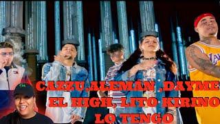 Cazzu X Alemán X Dayme Y El High X Lito Kirino   Lo Tengo (Video Oficial) Reaccion
