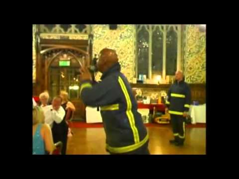 Video Fire Fighters In Song Singing Firemen London