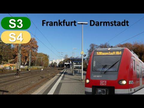 Br111 Fan [Doku]: S3/4 Südabschnitt Frankfurt Süd - Darmstadt Hbf
