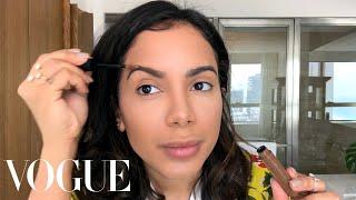 Brazilian Mega Star Anitta Does Her Glamorous Day To Night Beauty Routine | Beauty Secrets | Vogue