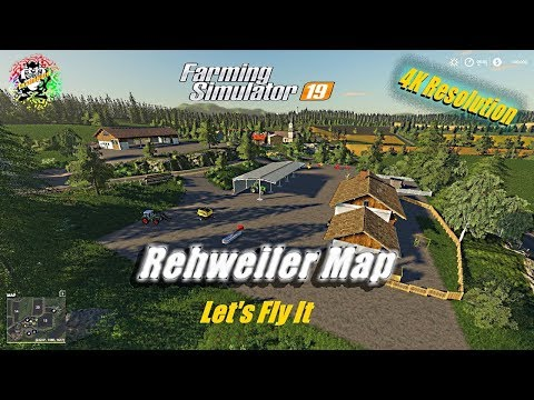 Fs-19 Rehweiler Map Fly Over in 4K Resolution