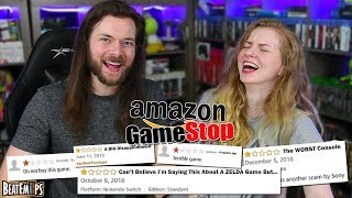 Reading TERRIBLE Gamestop & Amazon Video Game Reviews