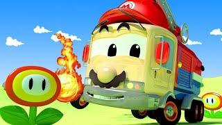 Autogaráž pro děti - Z Franka je Super Mário - Tomova Autolakovna ve Městě Aut