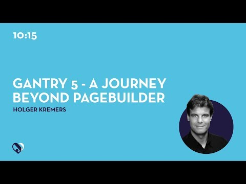 JD19DE - Gantry 5 - A journey beyond pagebuilder