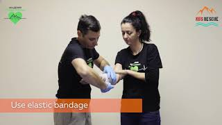 First Aid Pressure dressing