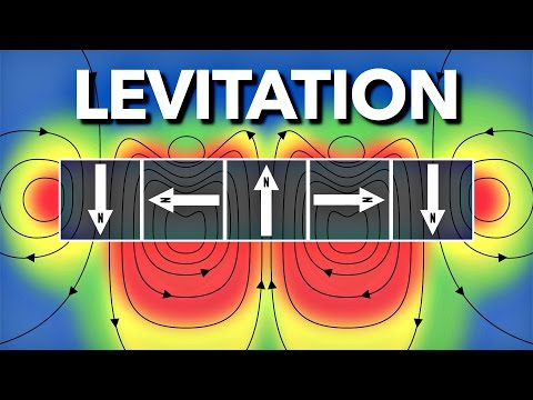 Jak levitovat pomocí magnetů - Veritasium