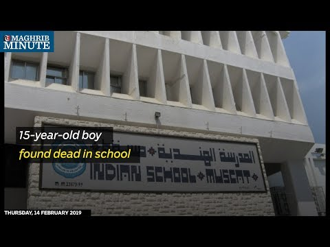 15-year-old boy found dead in school