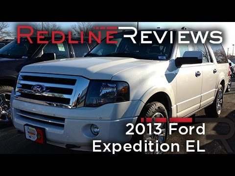 2013 Ford Expedition EL Review, Walkaround, Exhaust, Test Drive