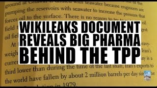 Wikileaks Document Reveals TPP Secrets! Major Corporations Control the World!