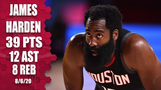 James Harden highlights from Lakers vs. Rockets | 2019-20 NBA Highlights