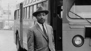 """Always Fight With Love"": In Rare Footage, A Young MLK Jr. Launches the Montgomery Bus Boycott"
