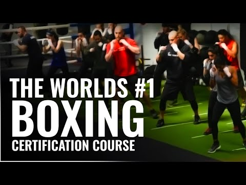 Worlds # 1 Boxing Certification Course - Box 'N Burn Academy ...