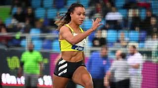 Liévin 2020 : Finale 60 m F (Cynthia Leduc en 7''29)