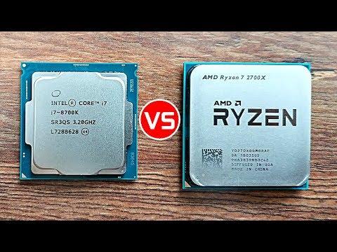 Best CPU Under $350 – AMD 2700X vs Intel 8700k