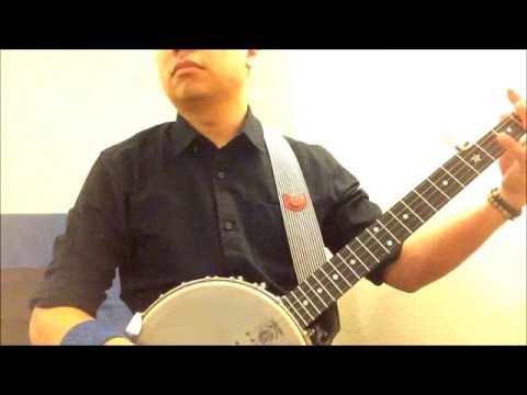 "Banjo arrangement of ""Minuet in G"" by J.S. Bach."