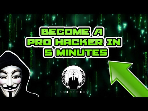 How To Become A Hacker In 5 Minutes